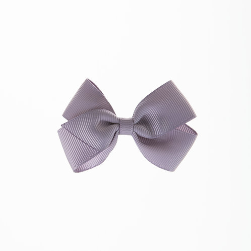 Small London Bow Hair Tie - Thistle