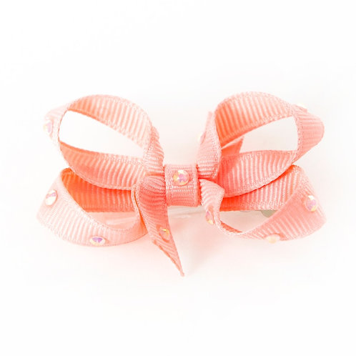 Small Bow - Coral