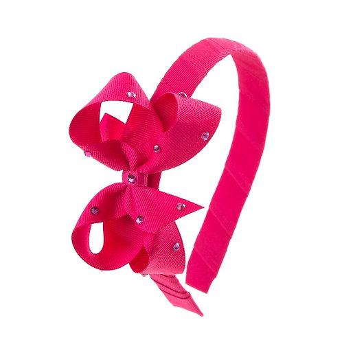 Bow Hairband - Azalea