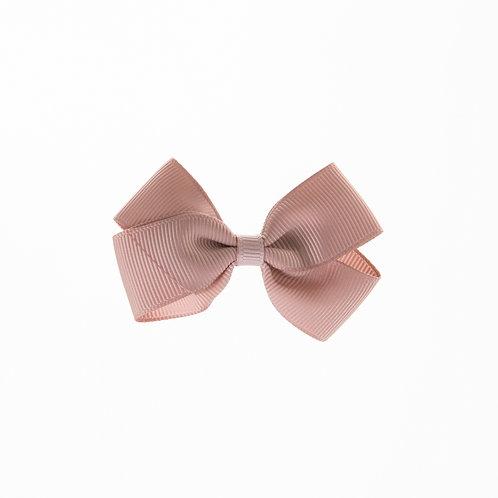 Small London Bow Hair Tie - Cameo