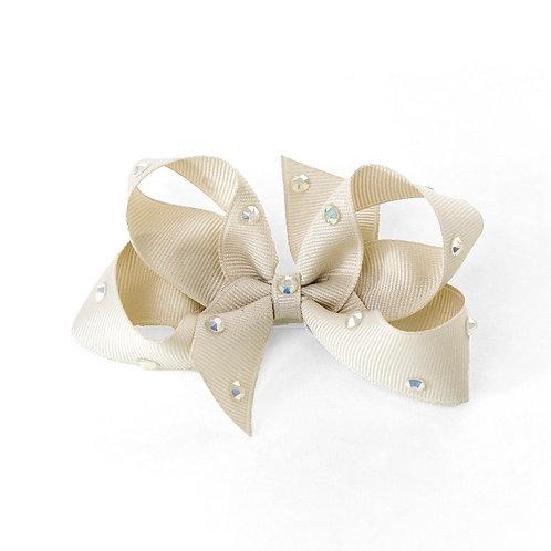 Medium Bow - Cool Khaki