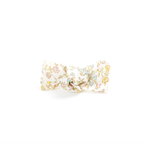 Liberty Knot Hair Clip - Baby Floral