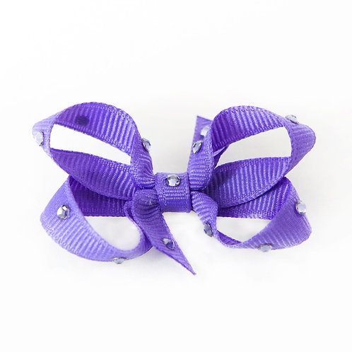 Small Bow - Periwinkle