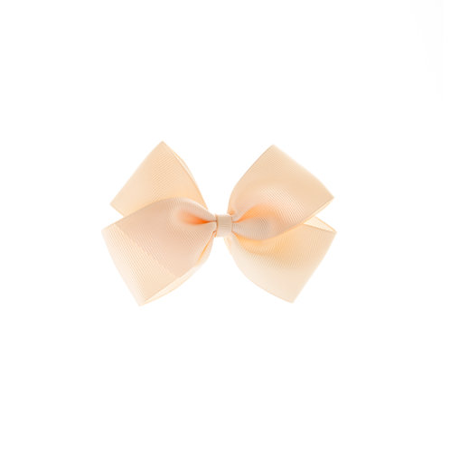 Medium London Bow Hair Tie - Nude