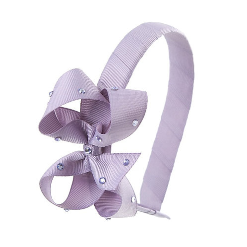 Bow Hairband - Thistle