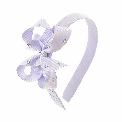 Bow Hairband - Lilac Mist