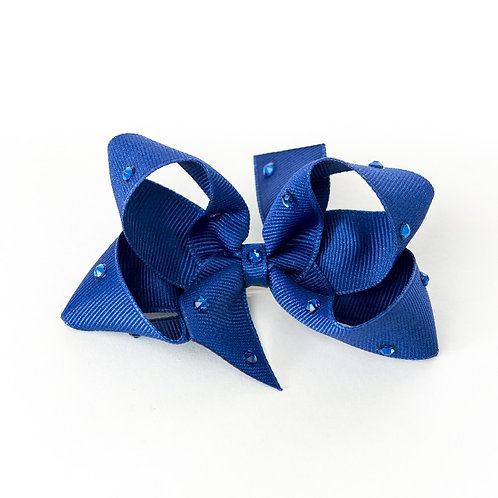 Medium Bow - Cobalt