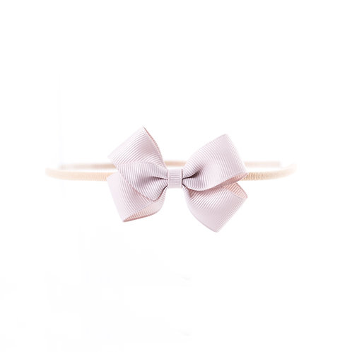 Small London Bow Soft Hairband - Carmandy