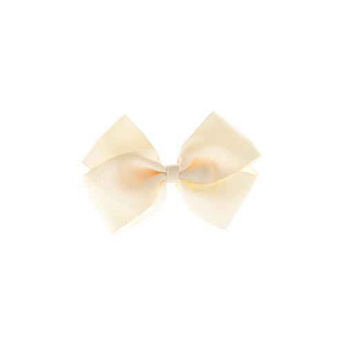 Medium London Bow Hair Tie - Ivory