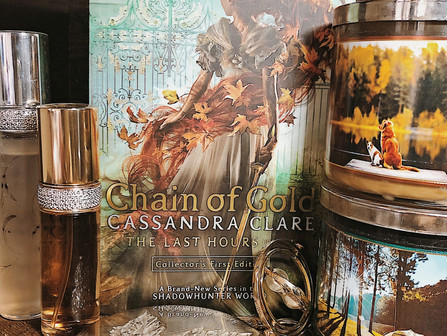 Thoughts While Reading: Chain of Gold