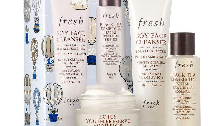 Fresh Radiance Routine Skincare Set