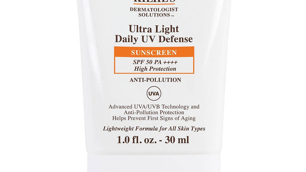 Kiehl's Ultra light Daily UV Defense