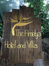 Logo the Amelya hotel and Villa Gili Air