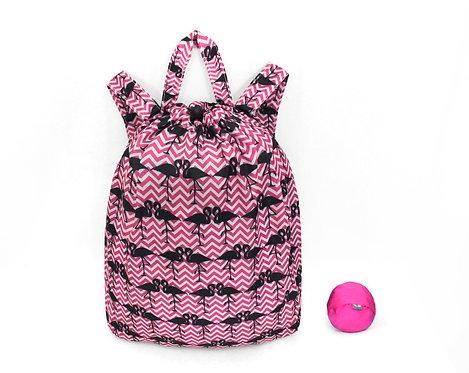 Ultra Lite Backpack - Flamingos