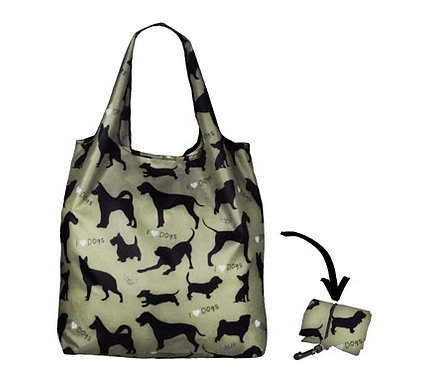 Lifestyle Shopper - I Love Dogs Sage