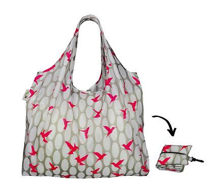 XL Lifestyle Shopper - Pink Hummingbirds