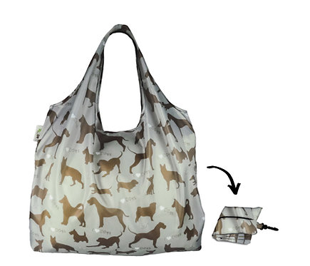XL Lifestyle Shopper - I Love Dogs Steel