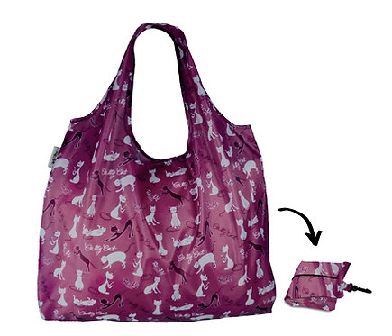 XL Lifestyle Shopper - Catty Cat Grape