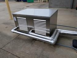 Freezer Cooler Compressor Rack Install