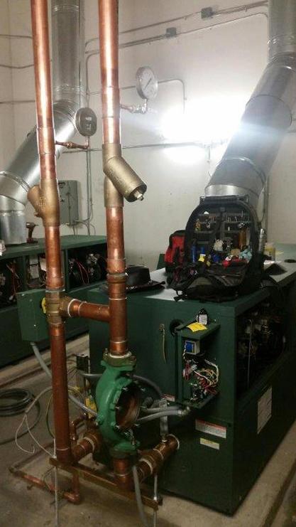 HW Boiler Installation