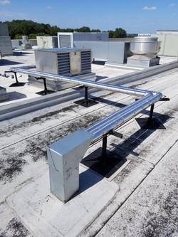 Compressor Rack Line Set Retrofit