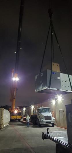 10-Ton Night RTU Install