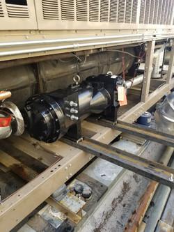 295 Ton Screw Changeout