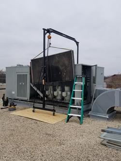Outside Air Main Condenser Repair
