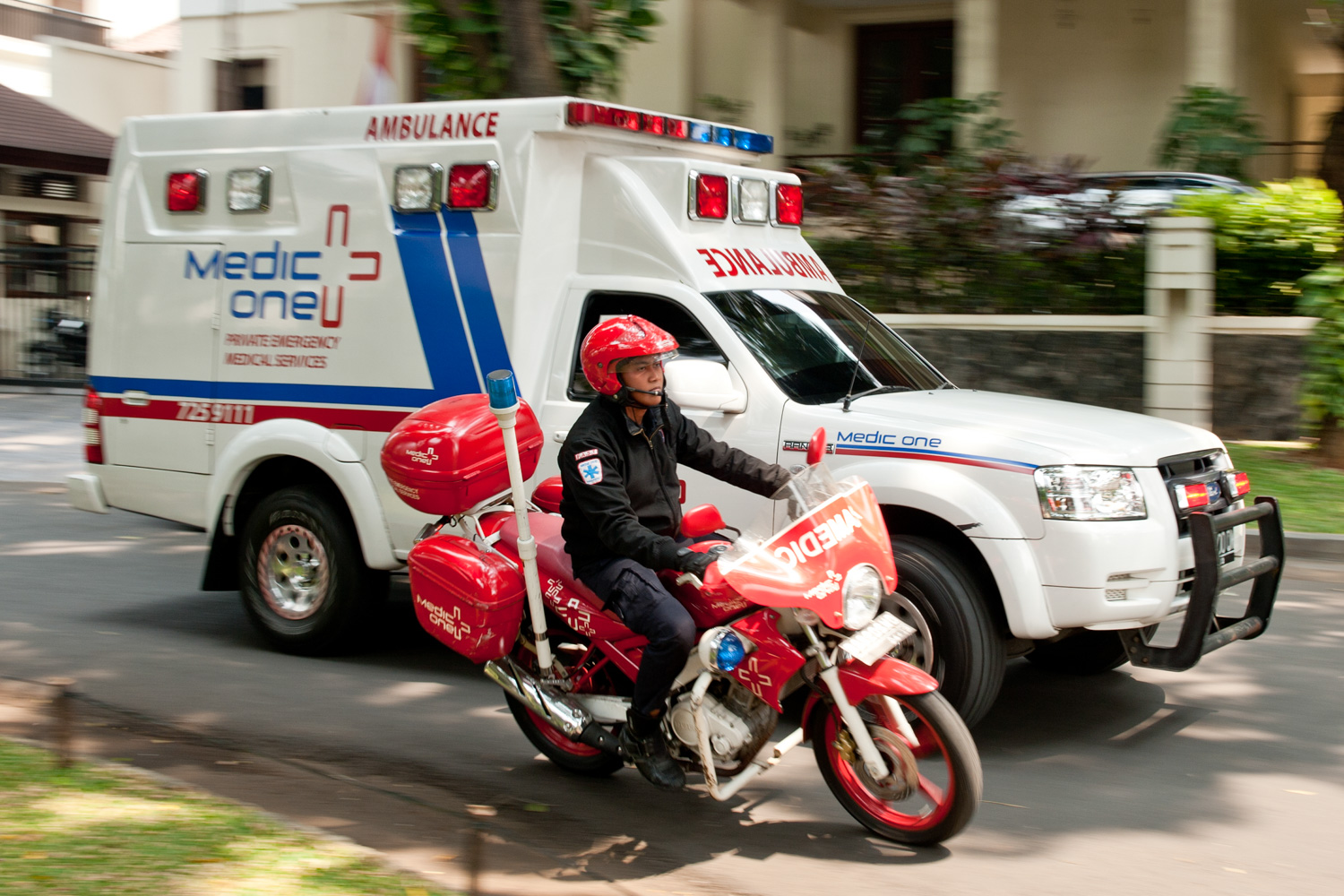 Medic One Service photography