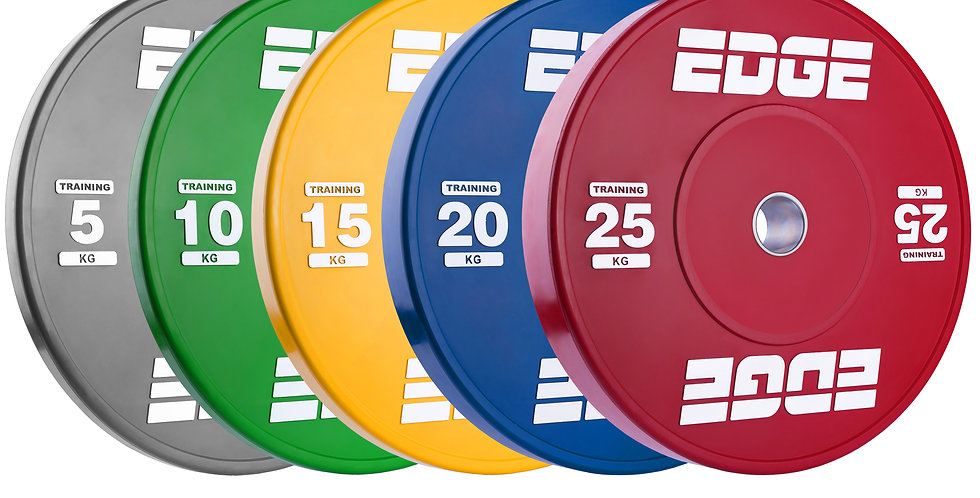 Coloured Eco Weightlifting Plates - Pair