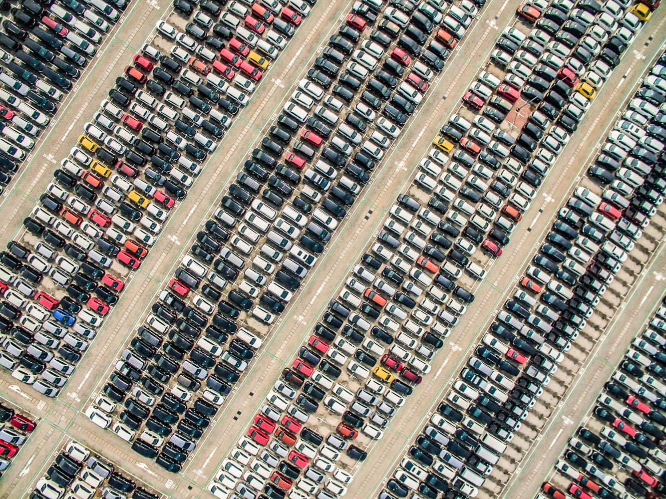 Toyota factory aerial photography