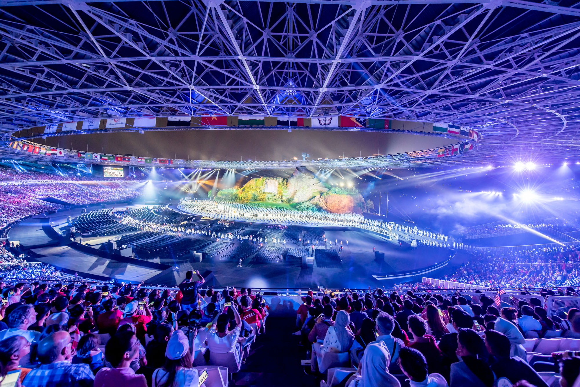 Opening Night Asian Games 2018