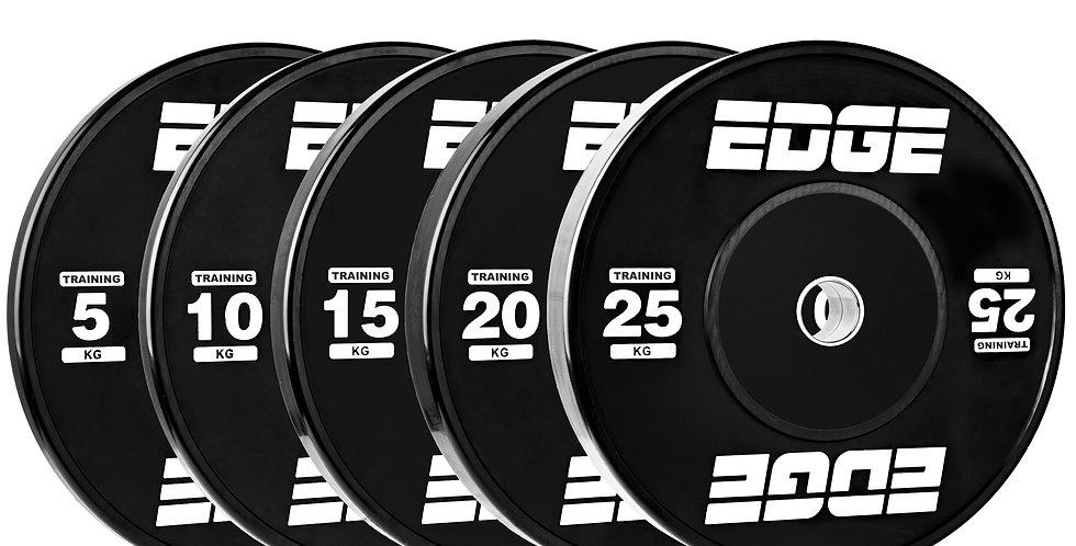 Black Eco Weightlifting Plates - Pair