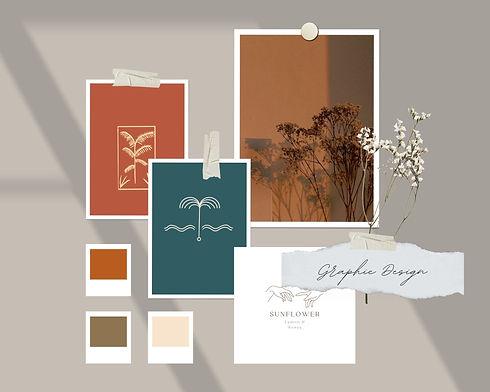 Orange and Grey Realistic Color Inspirat