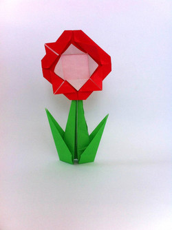 פרח מאוריגמי