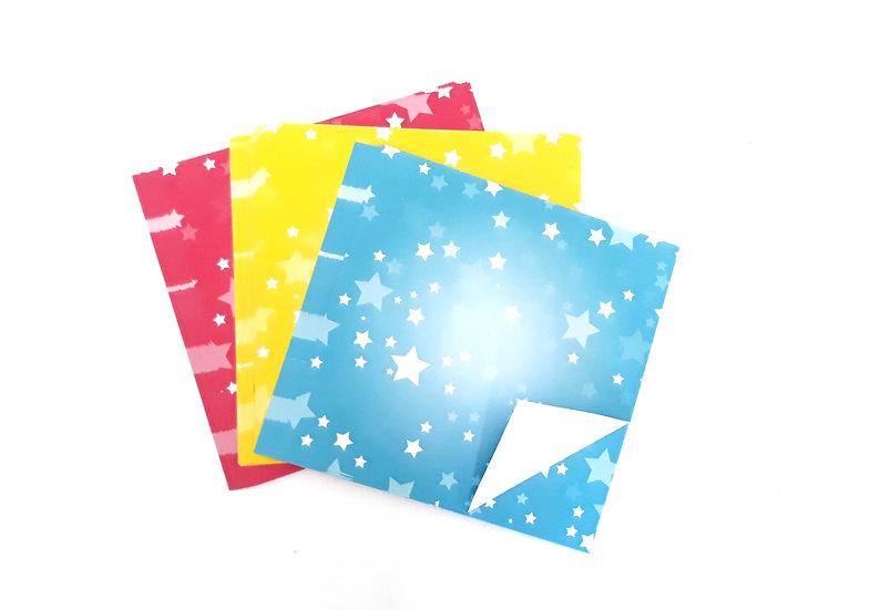 דפי אוריגמי כוכבים 60 דף