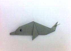 דולפין אוריגמי
