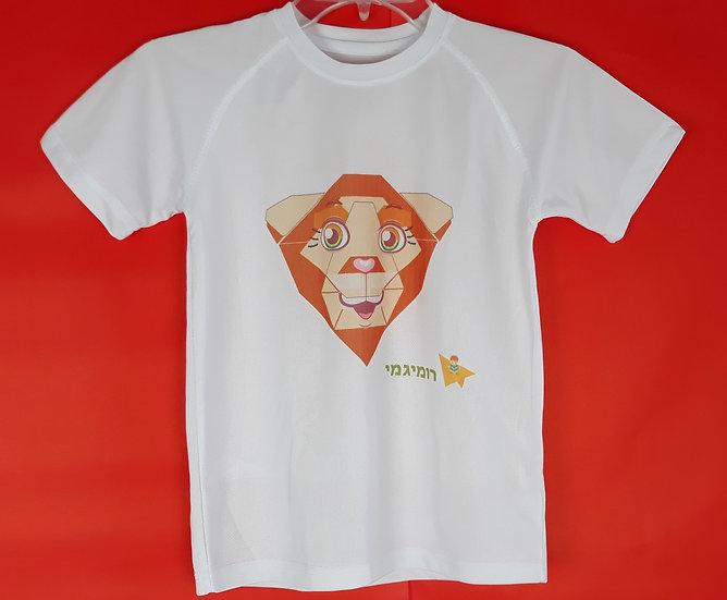 חולצת דרייפיט- אריה אוריגמי