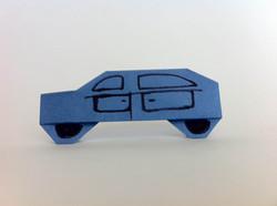 מכונית מאוריגמי