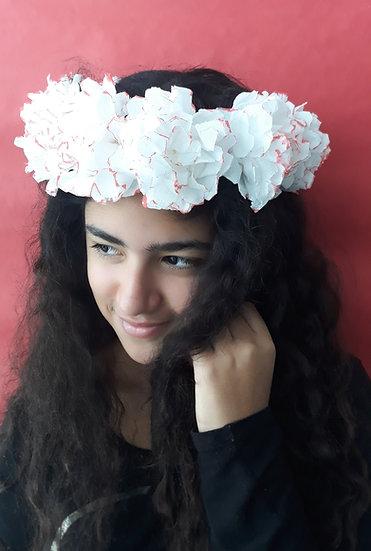 סדנת זום-הכנת זר פרחים לראש