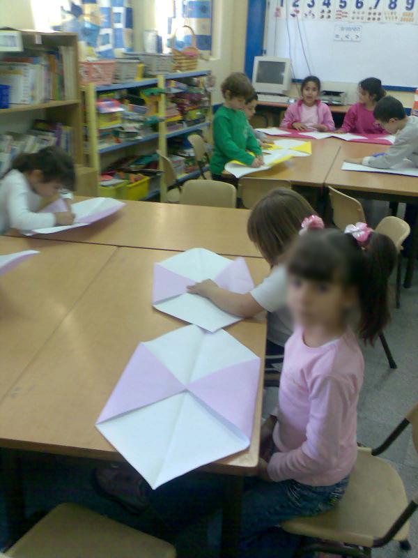 סדנאות אוריגמי