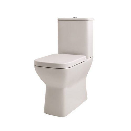 Brooklyn Fully Shrouded Close Coupled WC Complete