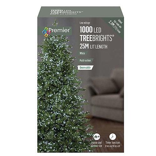 1000 LED TREEBRIGHTS 25M - WHITE