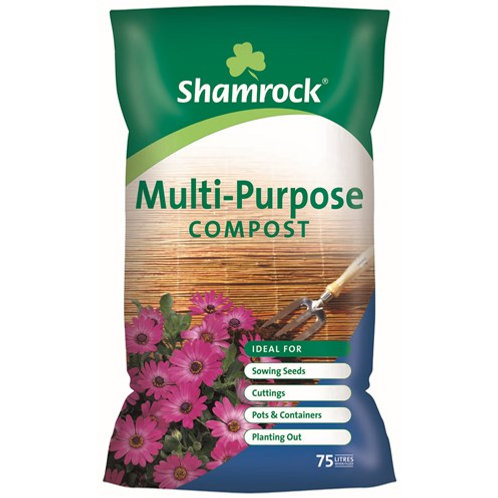 Shamrock 75ltr Multi Purpose Compost Buy 2 get 1 Free
