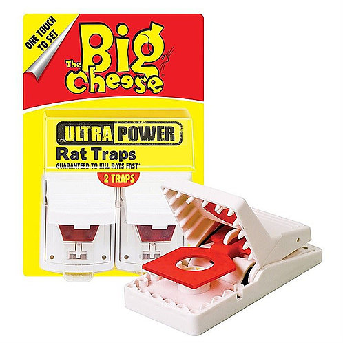 The Big Cheese Ultra Power Rat Trap - 2 Pack