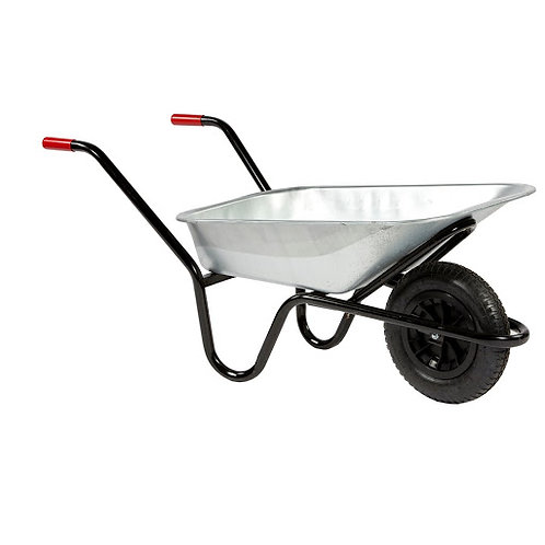 Moyfab Galvanized Wheelbarrow - 85ltr