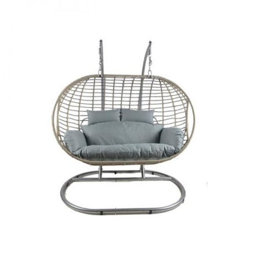 Sorrento Double Hanging Egg Chair