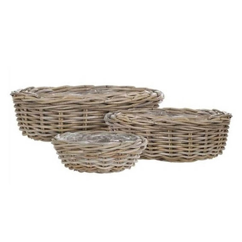 Marcia Round Baskets - Set of 3