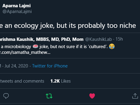 "Best of Science Twitter's ""I have a joke..."" about research subjects"