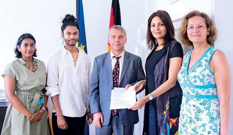 German Embassy Backs Aod S Fashion Prodigy Amesh For Berlin Fashion Week